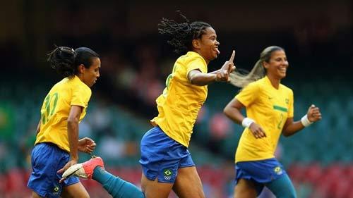 Bóng đá nữ Olympic: Đại gia thắng thế ngày mở màn - 1