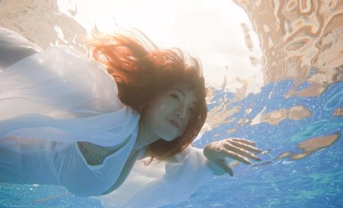 Hot girl Mai Thỏ gợi cảm dưới nước - 8