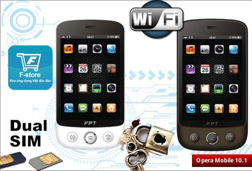 FPT B990 điện thoại cảm ứng 2 sim đa năng - 1