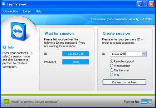 Hướng dẫn sử dụng teamviewer để truy cập máy tính từ xa - 3