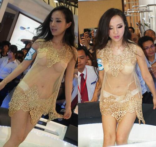 """Váy xuyên thấu """"độc hại"""" của sao Hoa ngữ - 8"""