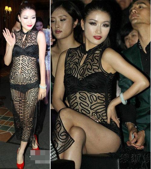 """Váy xuyên thấu """"độc hại"""" của sao Hoa ngữ - 17"""