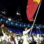 Đoàn TTVN diễu hành tại Olympic 2012