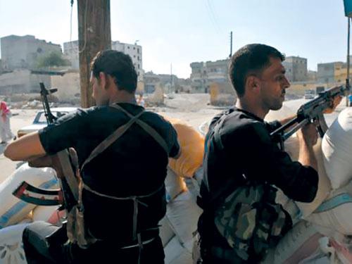 Chiến sự ác liệt ở Syria - 1