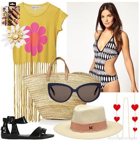 Lựa chọn trang phục đi biển ngày cuối hè - 5
