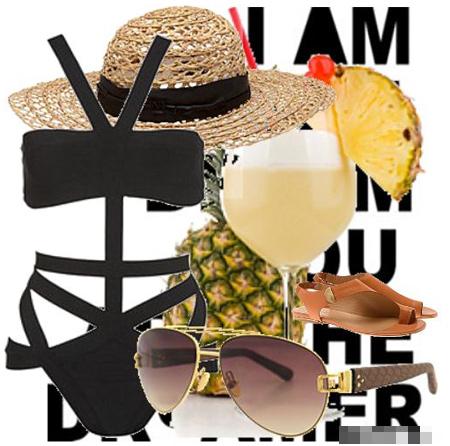 Lựa chọn trang phục đi biển ngày cuối hè - 8