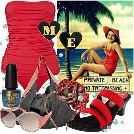 Lựa chọn trang phục đi biển ngày cuối hè - 9