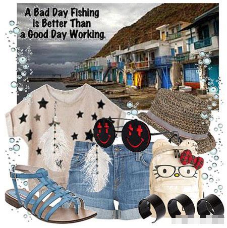 Lựa chọn trang phục đi biển ngày cuối hè - 2