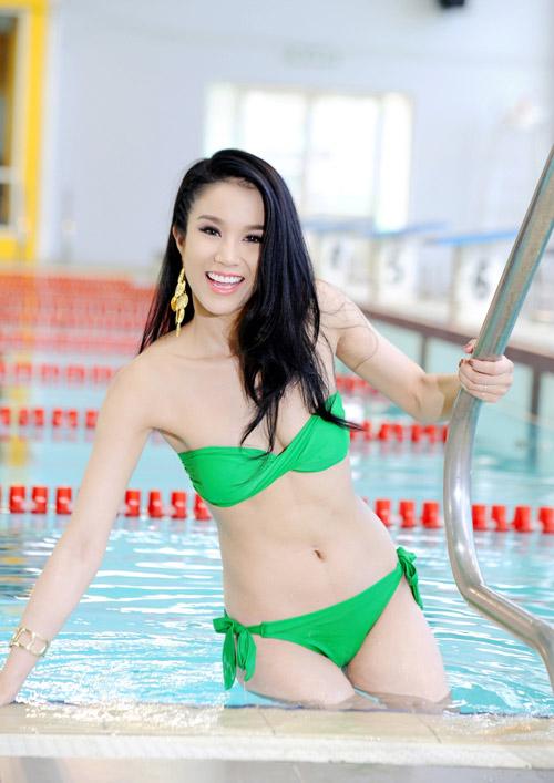 Diệp Anh diện bikini khoe ba vòng sexy - 8