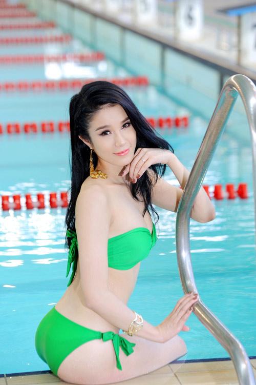 Diệp Anh diện bikini khoe ba vòng sexy - 10