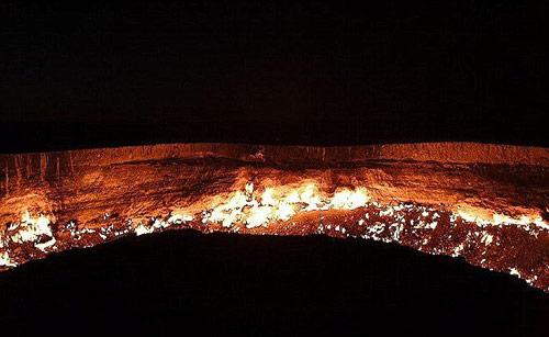 """""""Cổng địa ngục"""" kỳ bí tại Trung Á - 5"""