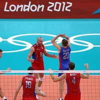 Môn bóng chuyền Olympic London: Khúc dạo đầu êm ả