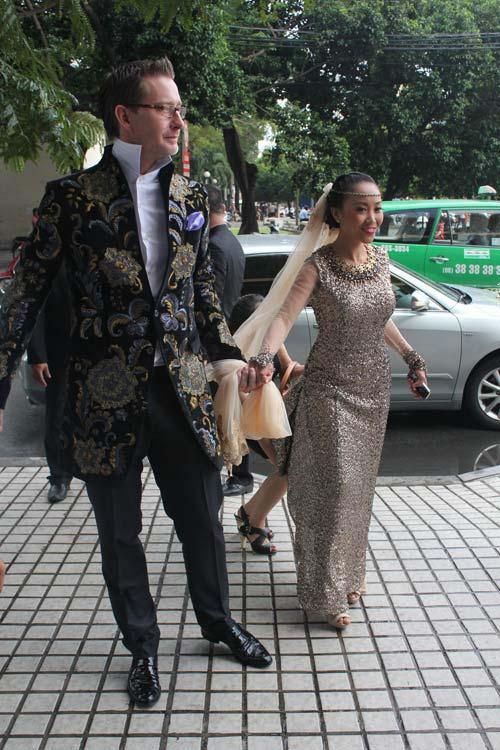 Cô dâu Đoan Trang đẹp tựa nữ thần - 8
