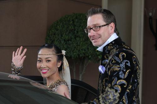 Cô dâu Đoan Trang đẹp tựa nữ thần - 12