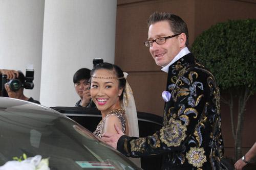Cô dâu Đoan Trang đẹp tựa nữ thần - 14