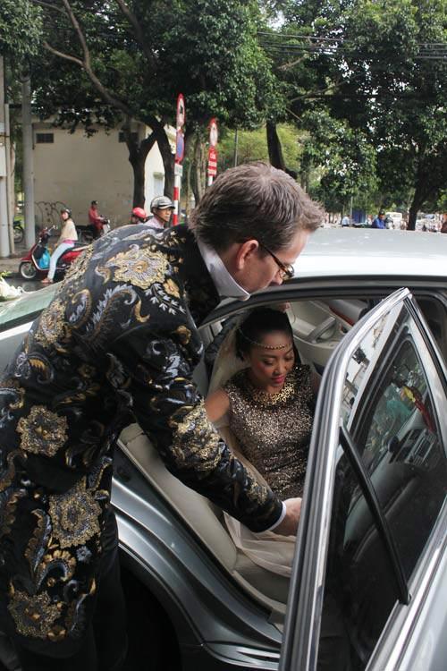 Cô dâu Đoan Trang đẹp tựa nữ thần - 5