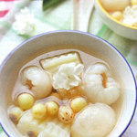 Ẩm thực - Chè trái vải hạt sen ngọt thanh mùa hè