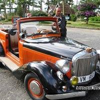 Chiêm ngưỡng xe ôtô cổ cực độc của công tử Bạc Liêu