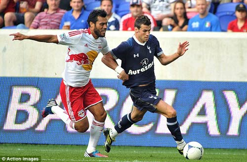 N.Red Bulls  Tottenham: Ngc dng, Bng , video new york red bull vs tottenham, tottenham, bale, bong da anh, ngoai hang anh, bong da, bong da 24h, ket qua bong da, bao bong da, olympic 2012