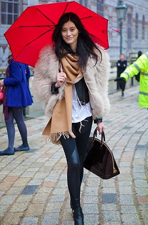 Tín đồ thời trang điệu quên thời tiết - 6