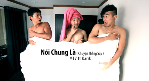 Clip  xoy &quot;khng tin cp t...&quot;, Ca nhc - MTV, Nhom MTV, MTV band, Le minh, thien vuong, Anh tuan, rapper karik, nguyen hoang duy, chuan men, khong tien thi cap dat, mv ca nhac
