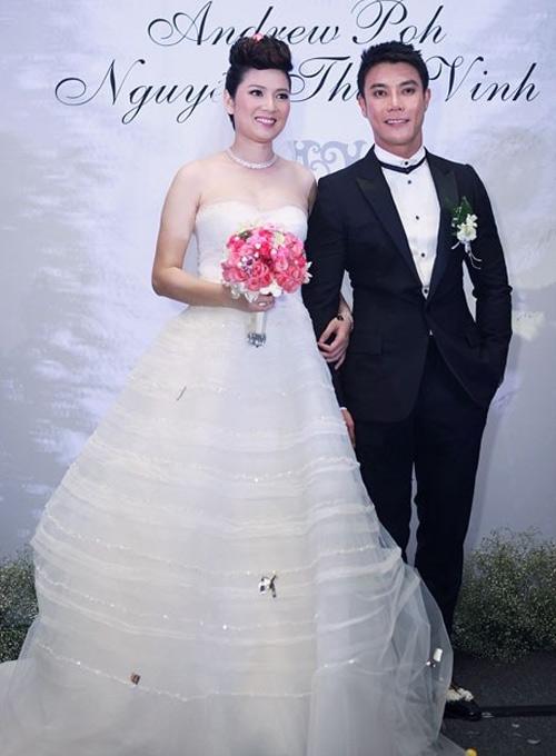 Cô dâu nào che bầu ngày cưới giỏi nhất? - 9