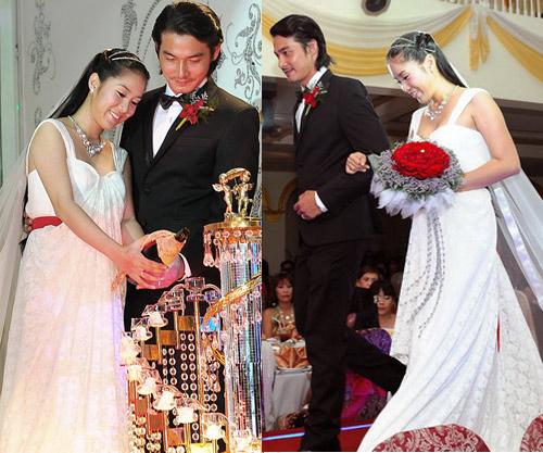 Cô dâu nào che bầu ngày cưới giỏi nhất? - 7