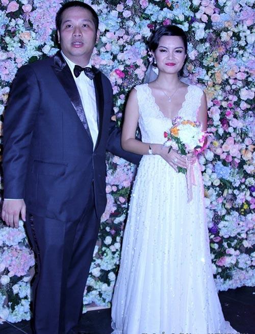 Cô dâu nào che bầu ngày cưới giỏi nhất? - 14