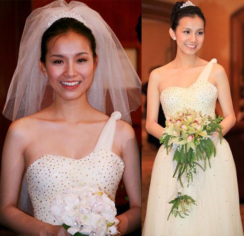 Cô dâu nào che bầu ngày cưới giỏi nhất? - 11