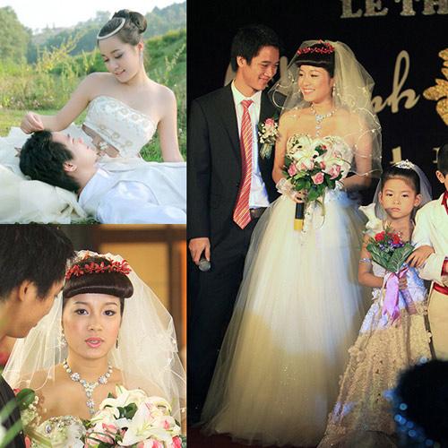 Cô dâu nào che bầu ngày cưới giỏi nhất? - 17