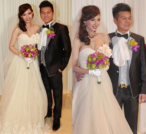 Cô dâu nào che bầu ngày cưới giỏi nhất? - 1