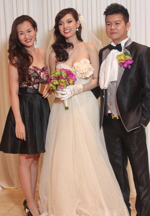 Cô dâu nào che bầu ngày cưới giỏi nhất? - 2