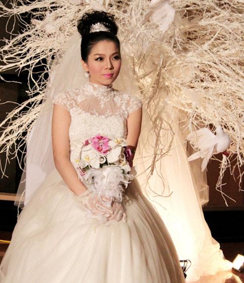 Cô dâu nào che bầu ngày cưới giỏi nhất? - 4