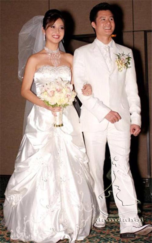 Cô dâu nào che bầu ngày cưới giỏi nhất? - 6