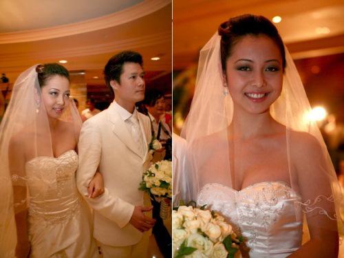 Cô dâu nào che bầu ngày cưới giỏi nhất? - 5