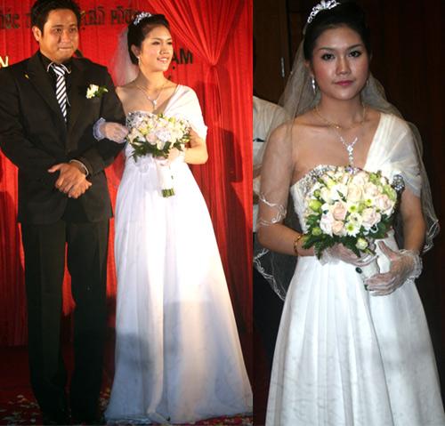 Cô dâu nào che bầu ngày cưới giỏi nhất? - 8
