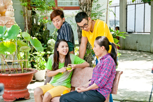 Trai nhy Ngc Thun ha chng cm, Phim, Ngoc thuan, Trai nhay, Mau trang khuyet, Tran thanh, Ngoc lan, Hotgirl sam, hai kich, dien vien