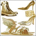Thời trang - Khảo giá giầy vàng quyền uy mùa Olympic