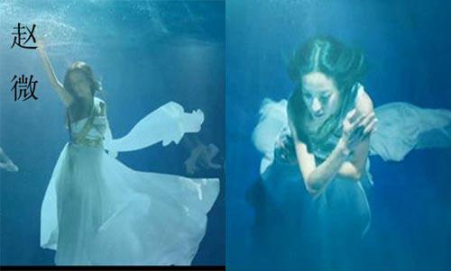 Mỹ nhân đẹp mê khi chụp hình dưới nước - 11