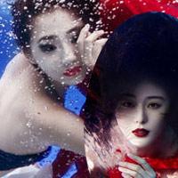 Mỹ nhân đẹp mê khi chụp hình dưới nước