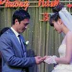 Đám cưới ngọt ngào của Đặng Phương Nam