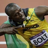 Bước chân thần tốc của Usain Bolt