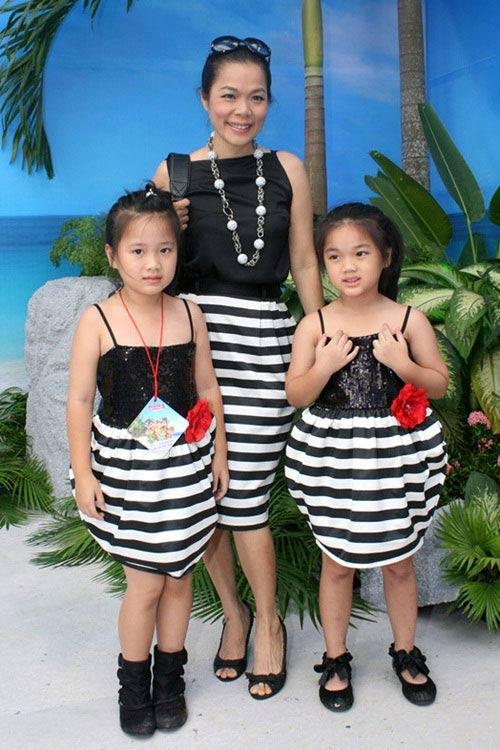 Thời trang đôi thú vị của gia đình sao - 4