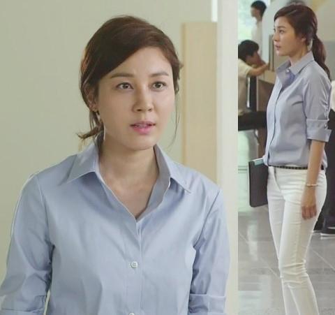 Mặc skinny jeans chuẩn như Kim Ha Neul - 2