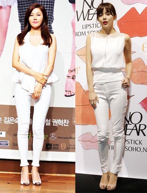Mặc skinny jeans chuẩn như Kim Ha Neul - 7