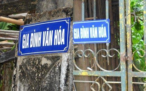 Hà Tĩnh: Lại đeo biển cho gia đình văn hóa - 2