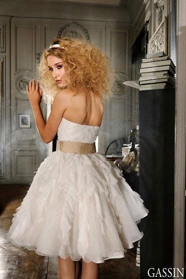 Chọn váy cưới cho cô dâu lùn - 9