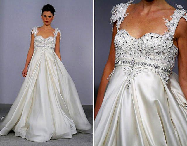 Chọn váy cưới cho cô dâu lùn - 5