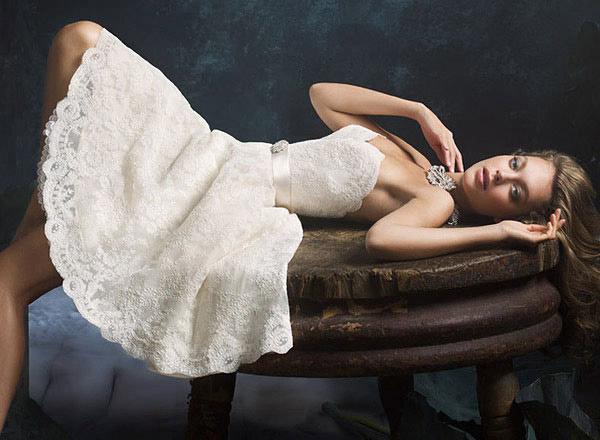 Chọn váy cưới cho cô dâu lùn - 11