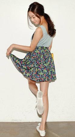 3 phong cách với kiểu váy xòe ấn tượng - 12